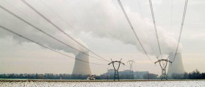 En hiver, la France importe traditionnellement de l'électricité depuis l'Allemagne, mais cette source pourrait se tarir.