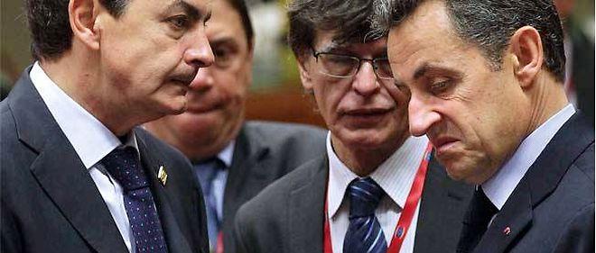Le 23 octobre, Nicolas Sarkozy face à José Luis Zapatero