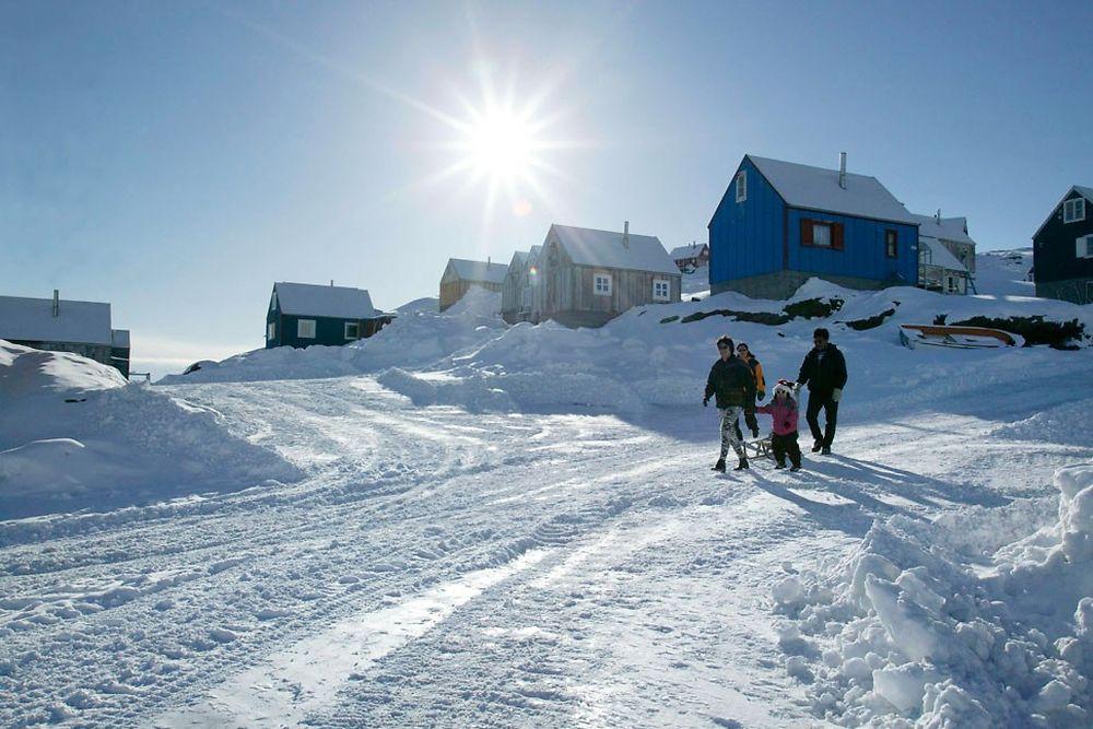 Le désert inuit