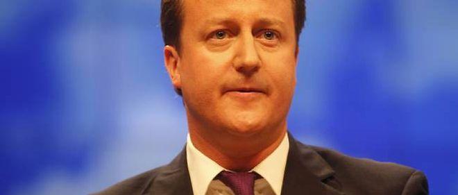 David Cameron, chef du gouvernement britannique.