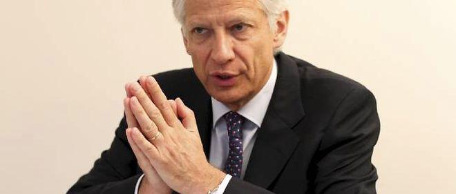"""L'ex-Premier ministre dit souhaiter """"que la France retrouve sa crédibilité""""."""