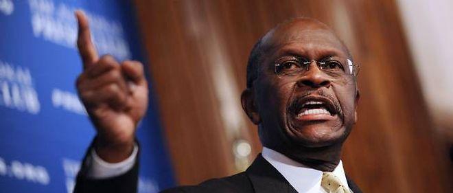 Herman Cain, candidat à l'investiture républicaine, nie les faits de harcèlement sexuel qui lui sont reprochés.