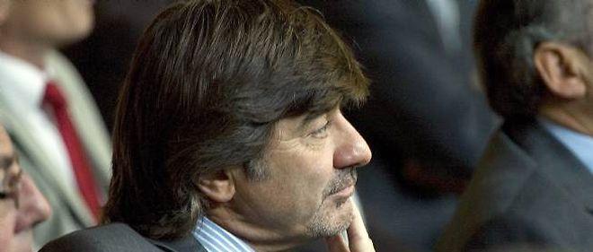 Michel Neyret, numéro deux de la PJ lyonnaise, assiste à l'installation du nouveau président du tribunal de grande instance de Lyon le 9 septembre 2011.