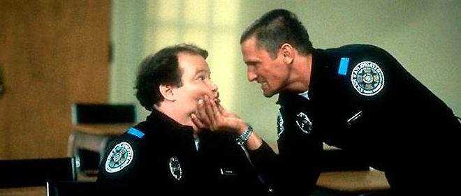 "Une scène du film ""Police Academy""."
