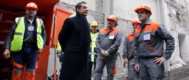 Nicolas Sarkozy a justifié de nouveau la règle du non-remplacement d'un fonctionnaire sur deux partant à la retraite.