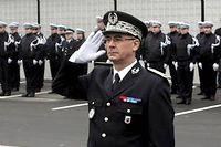 Le Directeur départemental de la sécurité publique du Nord Jean-Claude Ménault lors de prise de fonction en 2008 ©Pierre LE MASSON