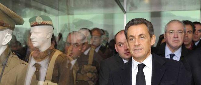 Quelques jours après l'inauguration du musée de la Grande Guerre, le président se rendra vendredi à Avignon pour une réunion des ministres de la Culture du G8 et du G20.