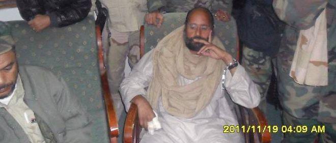 Seif el-Islam, après sa capture dans le sud de la Libye.