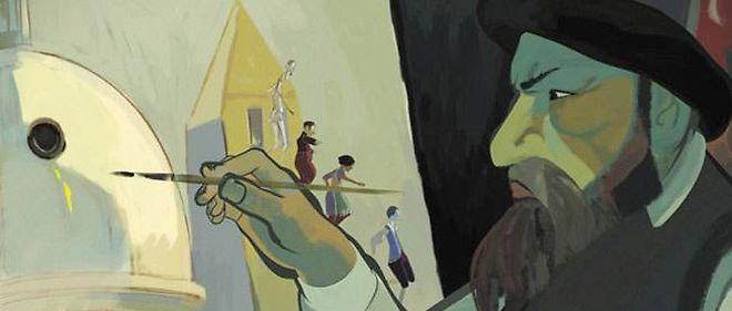"""""""Le tableau"""", un film de Jean-François Laguionie."""