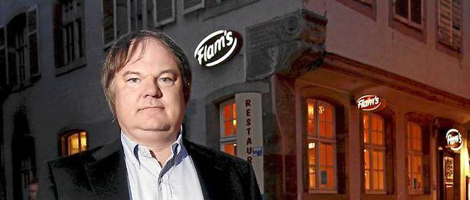 Éric Senet, cofondateur de la chaîne de restaurants Flam's.