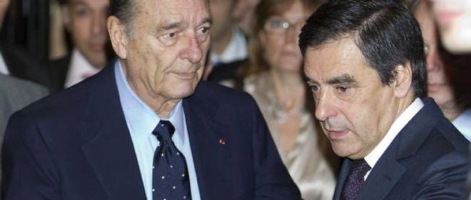 Les relations entre Jacques Chirac et François Fillon ont longtemps été marquées par une défiance réciproque.