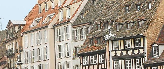 Strasbourg et ses maisons typiques.