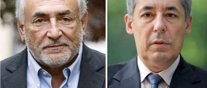 Dominique Strauss-Kahn et Henri Guaino