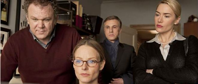 "Christoph Waltz, Jodie Foster, John C. Reilly et Kate Winslet dans ""Carnage"", de Roman Polanski."