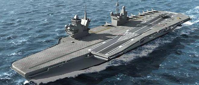 C'est un navire de type CATOBAR que la France pourrait vendre au Brésil.