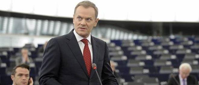 Le Premier ministre polonais Donald Tusk a dressé mercredi devant les députés européens réunis à Strasbourg, le bilan du sommet consacré au sauvetage de la zone euro.