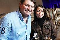 David Coutelas (à gauche) et Flore Bouyé (à droite), vignerons. ©DR