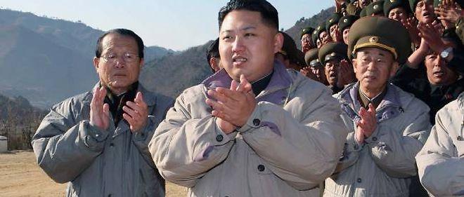 Kim Jong-un, ici en 2010 sur le sol nord-coréen, a passé plusieurs années de sa vie... en Suisse.