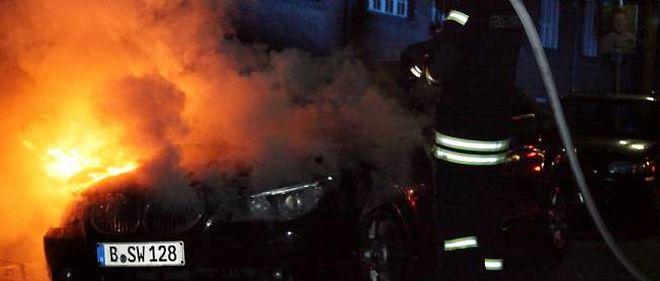 Le nombre de voitures brûlées au nouvel an n'est plus annoncé publiquement.