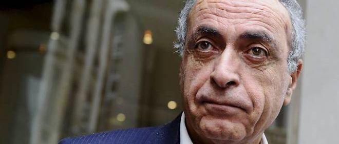 Ziad Takieddine à la sortie de son audition au pôle financier du palais de justice de Paris le 5 octobre.