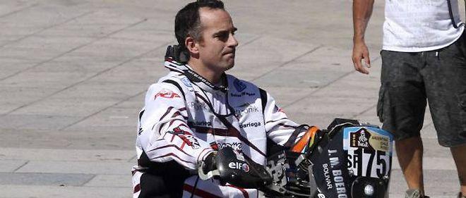 Jorge Martinez Boero, âgé de 38 ans, est mort dimanche durant la première étape du rallye Dakar 2012.