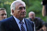 Dominique Strauss-Kahn le 23 août dernier. ©Charles Mostoller