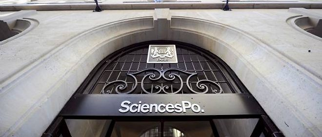 Sciences Po, rue Saint-Guillaume a Paris.