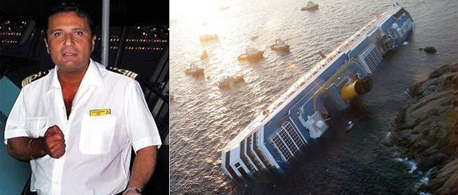 Francesco Schettino, commandant du Concordia.