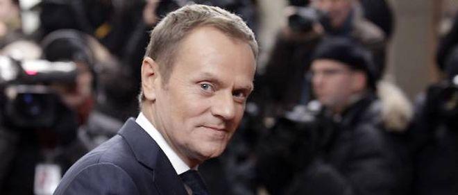 Le Premier ministre polonais Donald Tusk.