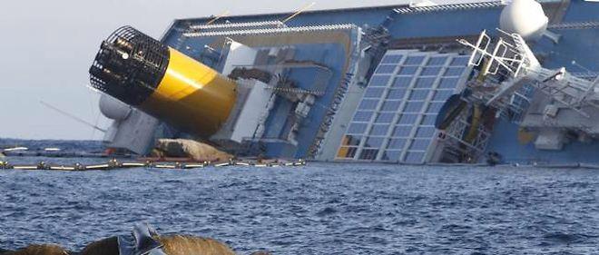 Le Costa Concordia a sombré au large de l'île toscane du Giglio, en Italie.