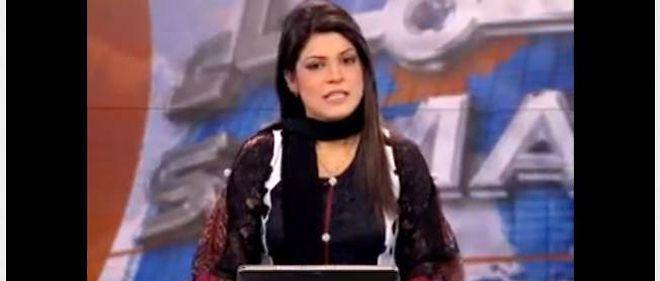 La présentatrice Maya Khan, ici le 17 janvier dernier.