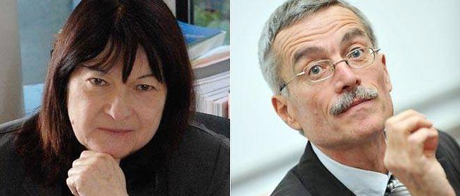 Les juges Marie-Odile Bertella-Geffroy et Renaud Van Ruymbeke