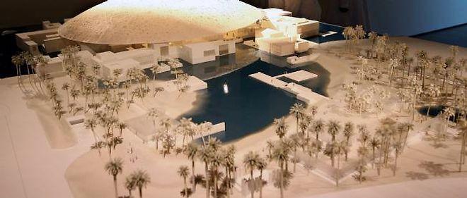 """Le """"Louvre Abu Dhabi"""" a été dessiné par l'architecte Jean Nouvel."""