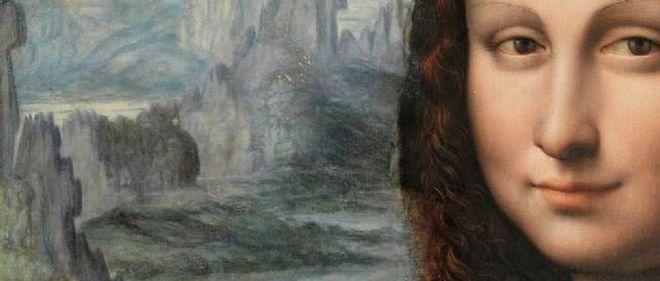 """Détail de la Joconde du Prado, publié par """"The Art Newspaper""""."""