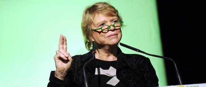 """Eva Joly pense que """"le petit monde politico-médiatique l'a prise en grippe""""."""