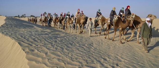 Le tourisme s'est effondré en Tunisie depuis la chute de Ben Ali.