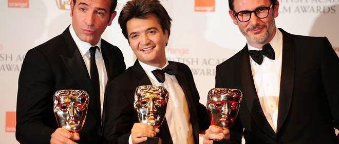 Lors de la cérémonie des Baftas, à Londres, Jean Dujardin, Thomas Langmann et Michel Hazanavicius repartent avec pas moins de sept récompenses, dont celles de meilleur film, meilleur acteur et meilleur réalisateur.