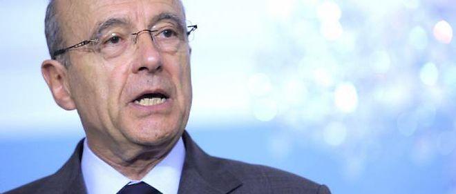 Le ministre des Affaires étrangères, Alain Juppé © Susan Walsh / AP / Sipa