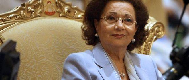 Suzanne Moubarak, ici en 2008.