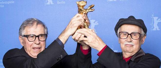 Vittorio et Paolo Taviani ont remporté l'ours d'or samedi soir à Berlin.