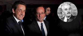 Nicolas Sarkozy et François Hollande ©AP / Sipa