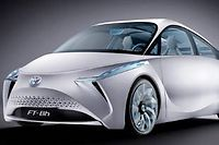 Le concept car FT-Bh de Toyota. ©DR