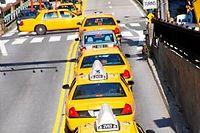 Les taxis jaunes new-yorkais sont peu à peu remplacés par des hybrides ©ImageSource/REA