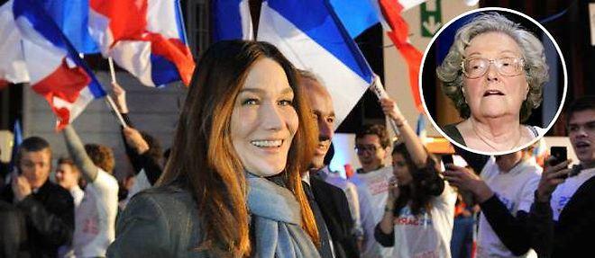 Carla Bruni-Sarkozy ©Caroline Blumberg