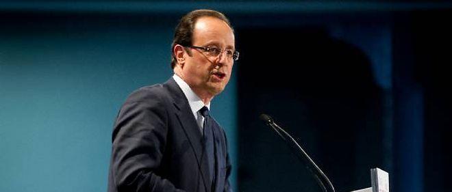 Le candidat socialiste à la présidentielle, François Hollande.