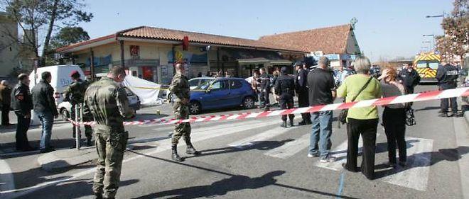 Les deux militaires ont été tués en plein coeur de Montauban, jeudi.
