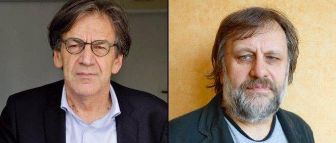 Face-à-face : Alain Finkielkraut et Slavoj Zizek.