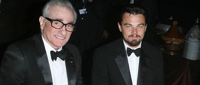 Martin Scorsese et Léonardo Di Caprio