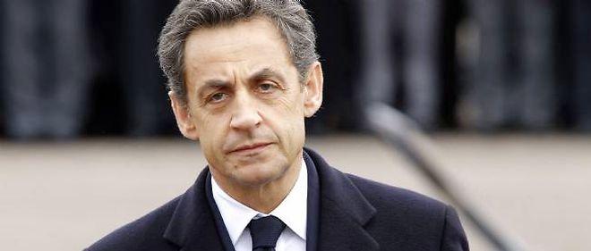 Nicolas Sarkozy, mercredi, à Montauban.