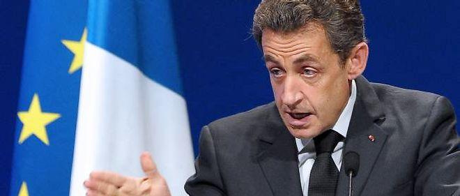 Nicolas Sarkozy en meeting à Strasbourg a repris le fil de sa campagne.